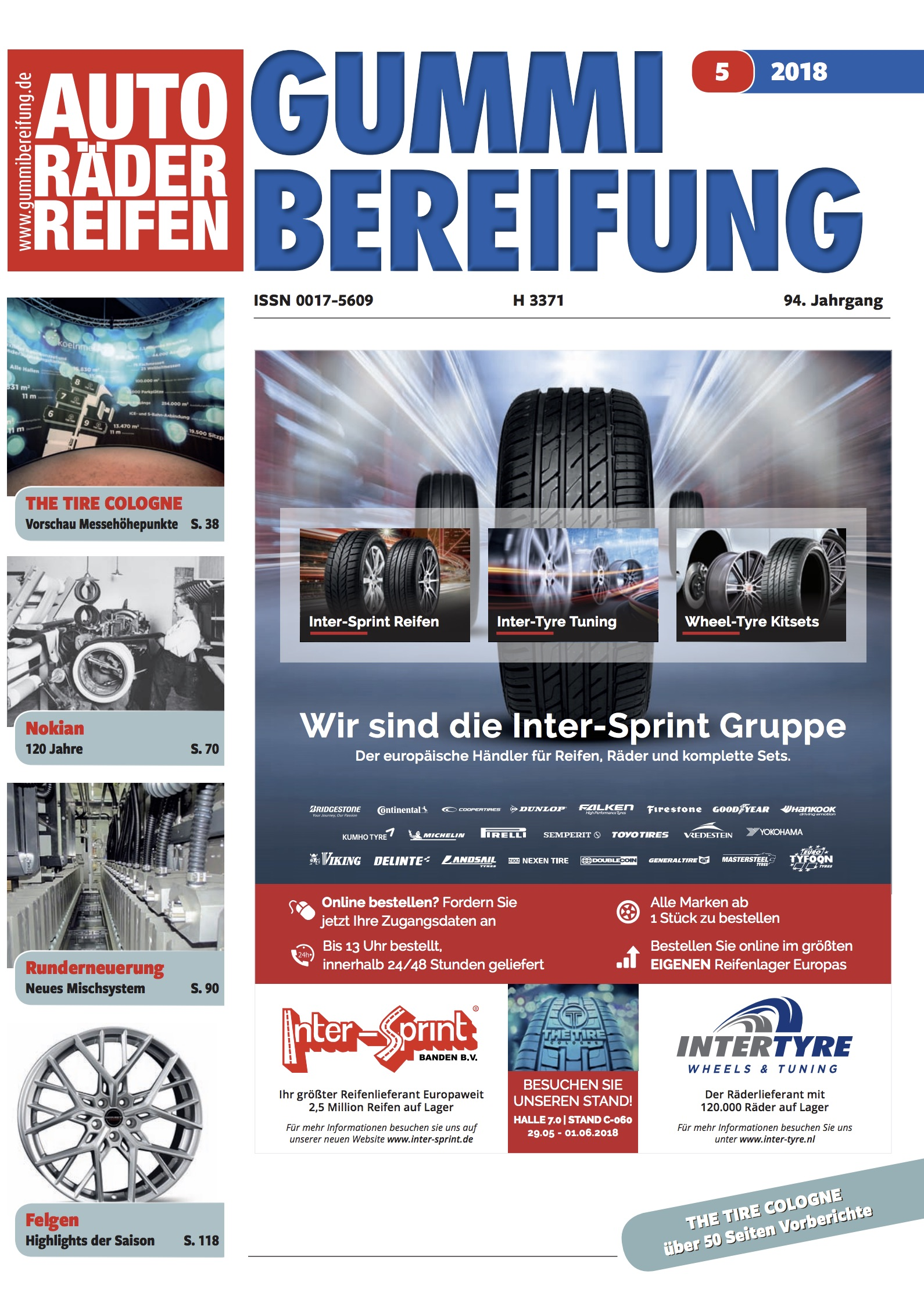 TyreSystem auf The Tire Cologne 2018