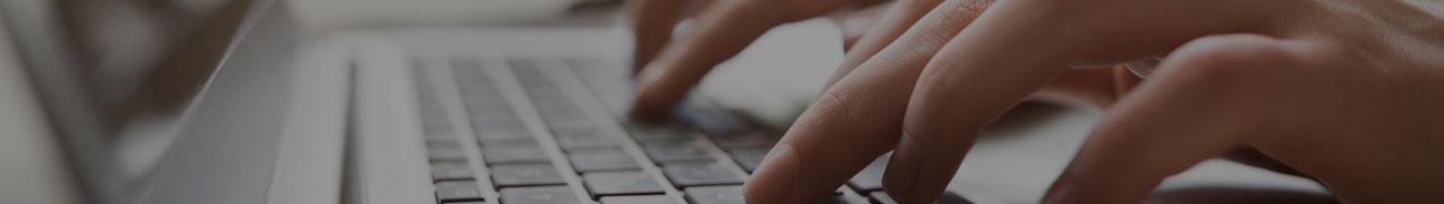 Suchbegriff per Laptop-Tastatur eingeben